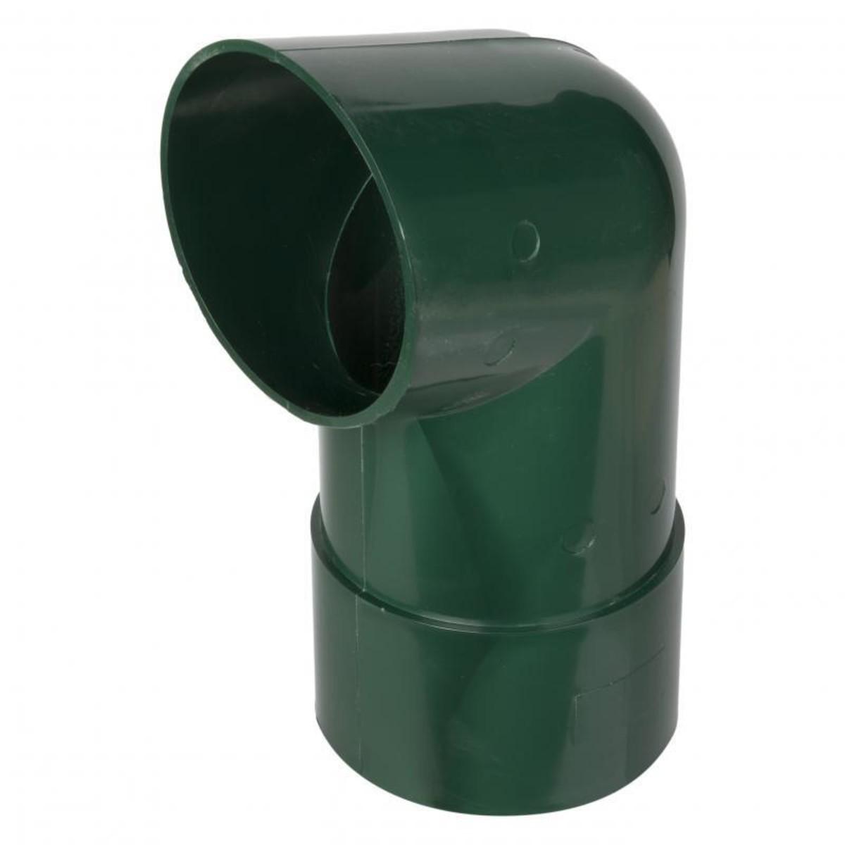 Отвод для трубы 82 мм цвет зеленый