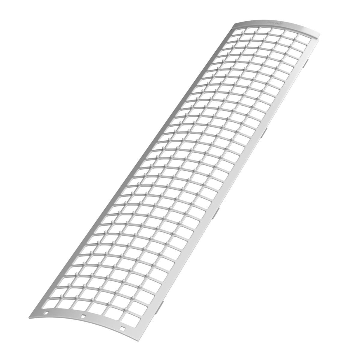 Сетка для защиты желоба 0.61 м цвет белый