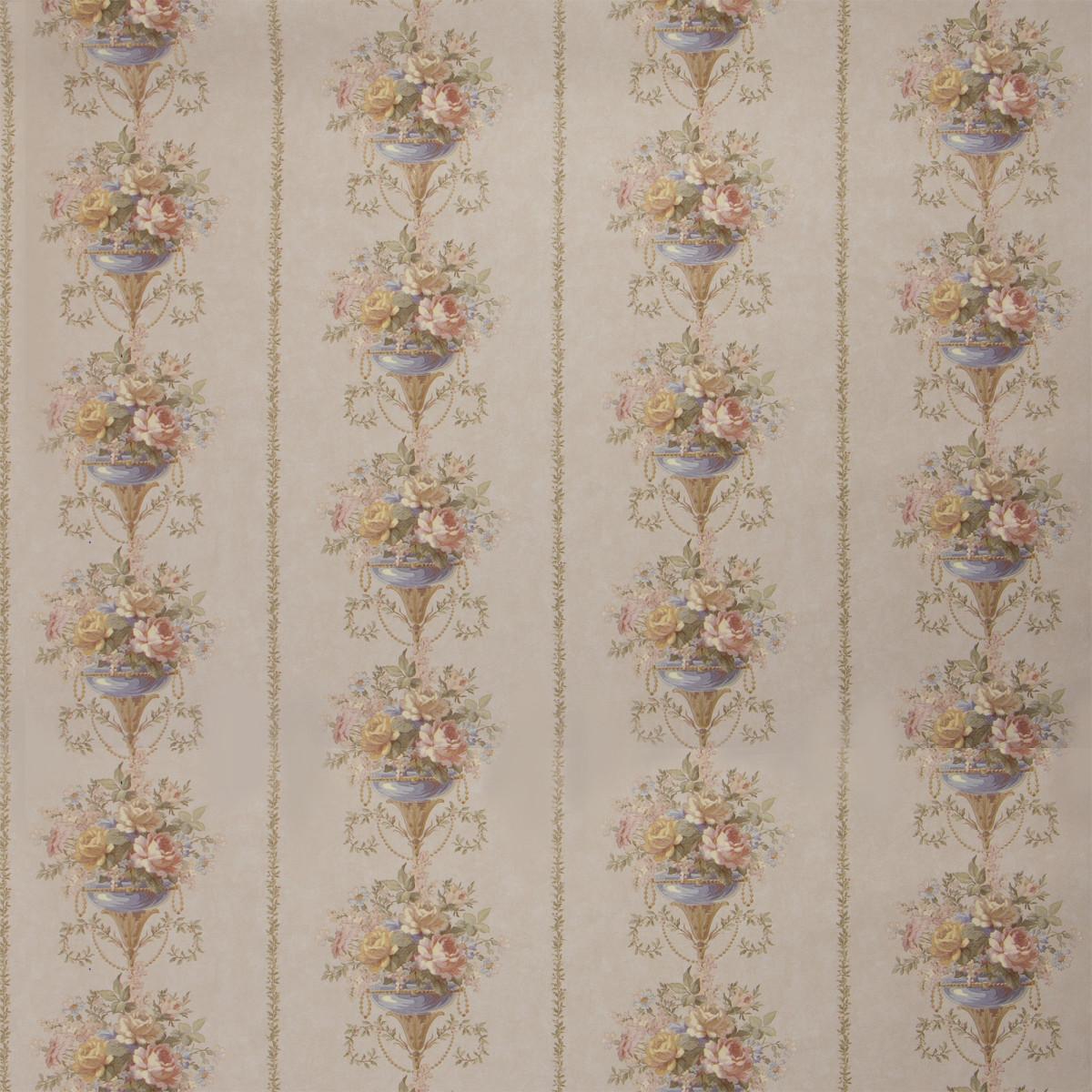 Обои на флизелиновой основе 1.06х10 м цветы цвет бежевый Did 53203-3