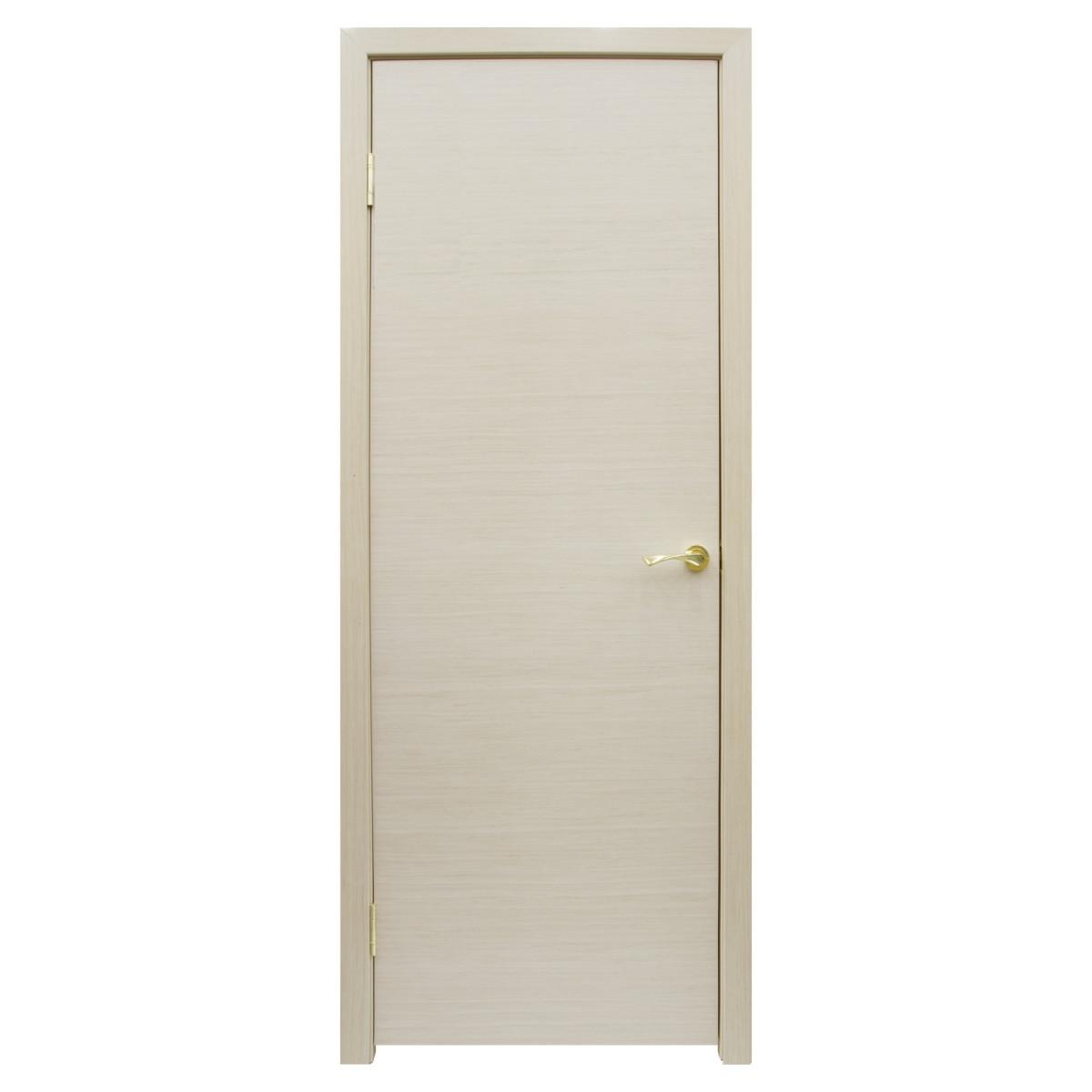 Дверь Межкомнатная Глухая Шарлотт 70x200 Шпон Цвет Дуб Белёный