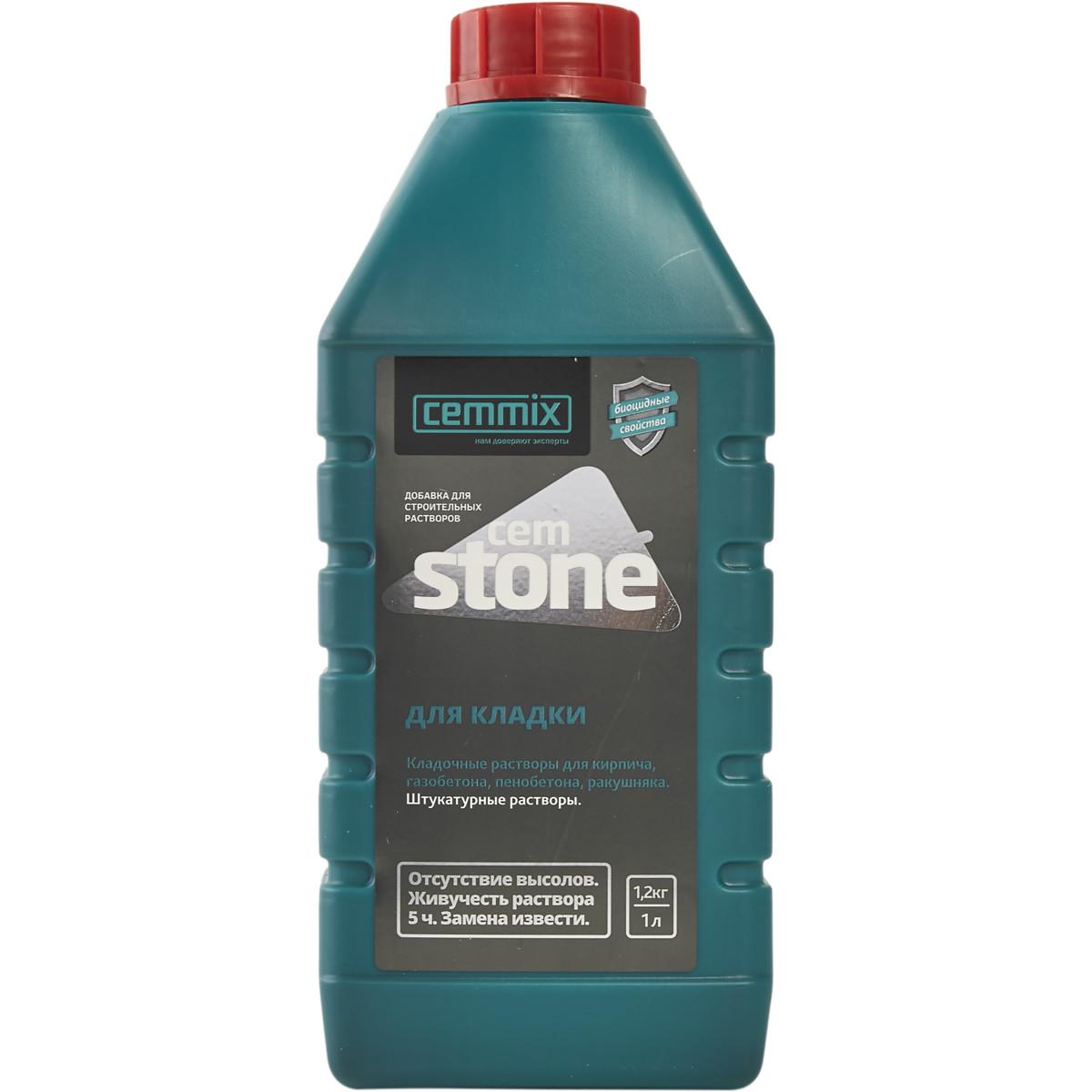Добавка для кладки Cemmix CemStone 1 л