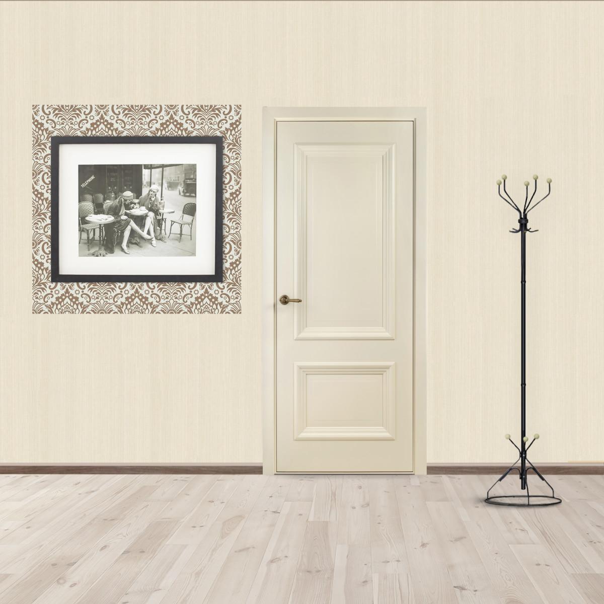 Дверь Межкомнатная Глухая Франческа 60x200 Эмаль Цвет Слоновая Кость