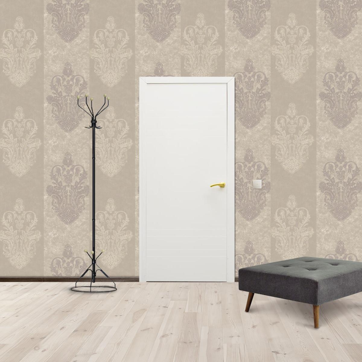 Дверь Межкомнатная Глухая Модерн 90x200 Ламинация Цвет Белый