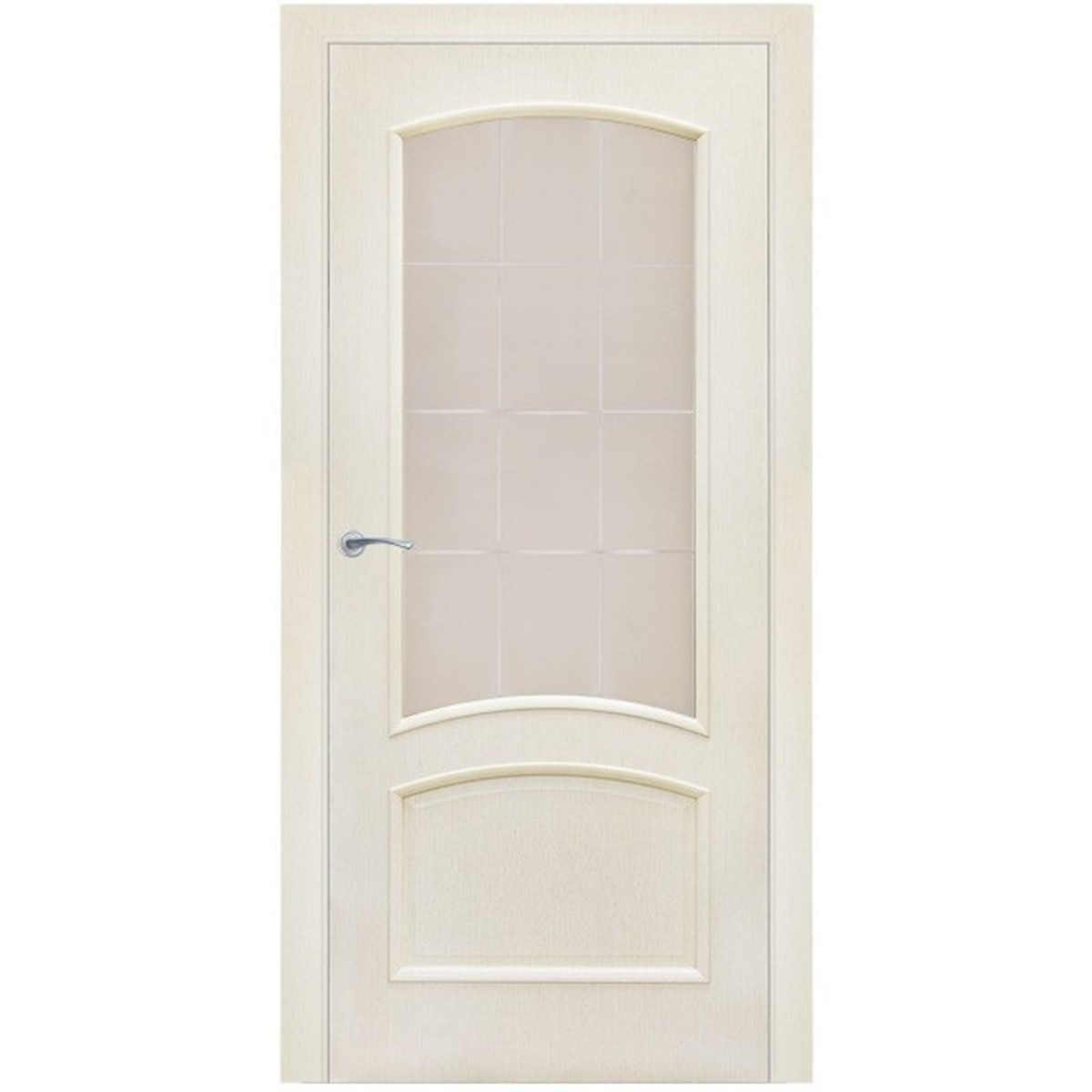 Дверь Межкомнатная Остеклённая Bravo 60x200 Ламинация Цвет Меланж