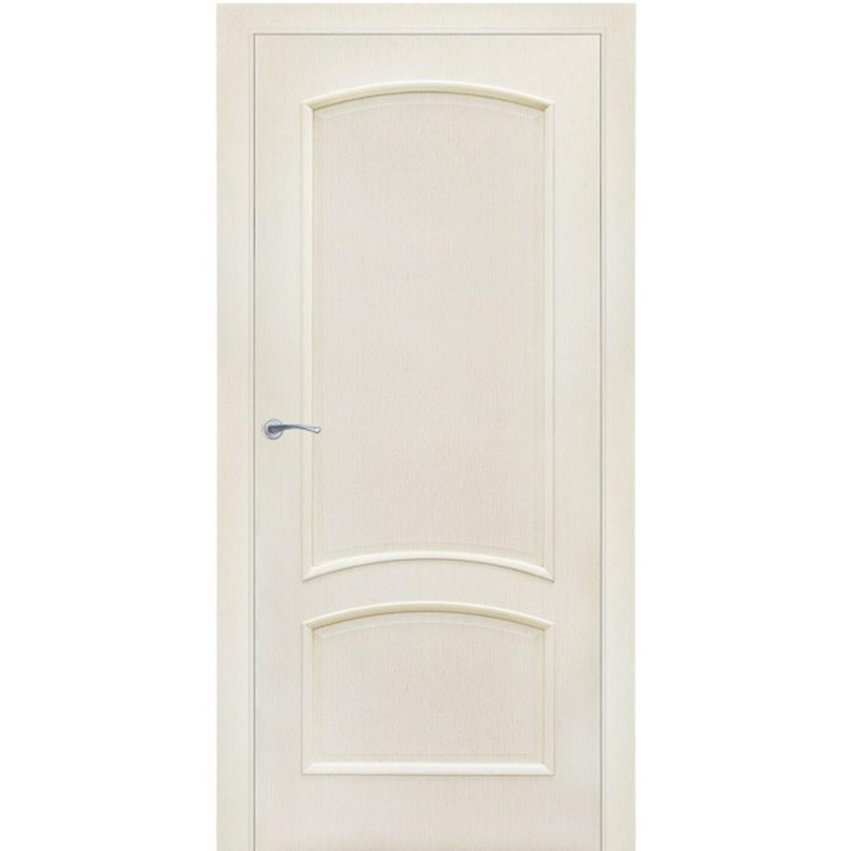 Дверь межкомнатная глухая Bravo 90x200 см ламинация цвет меланж