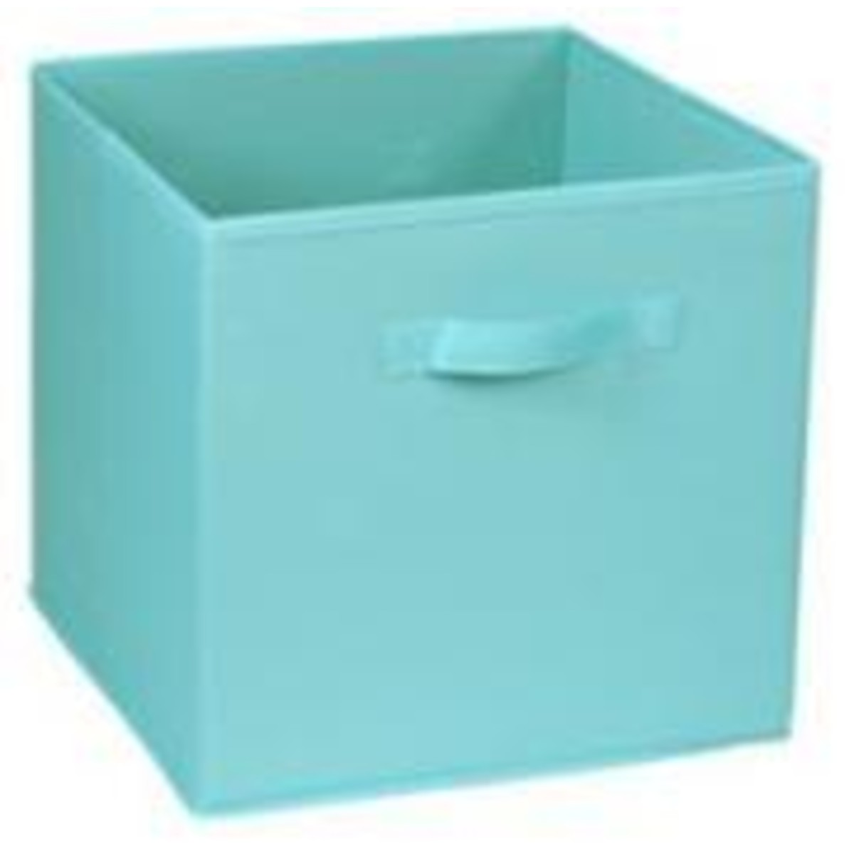 Короб для хранения 31x31x31 см полиэстер цвет голубой