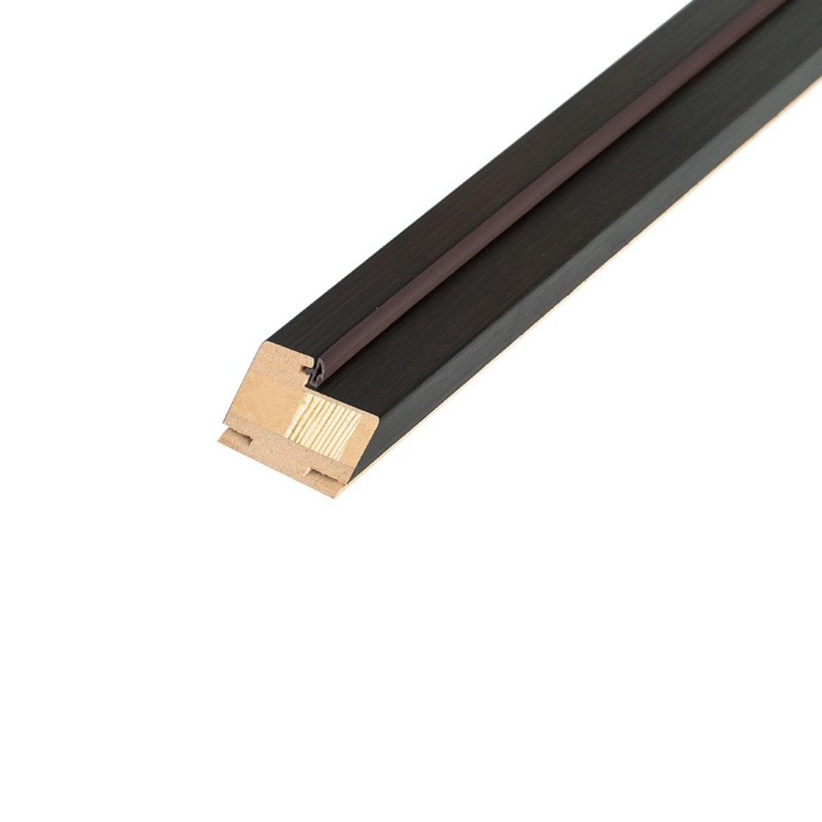 Брус коробочный узкий 80x210 см ламинация цвет венге