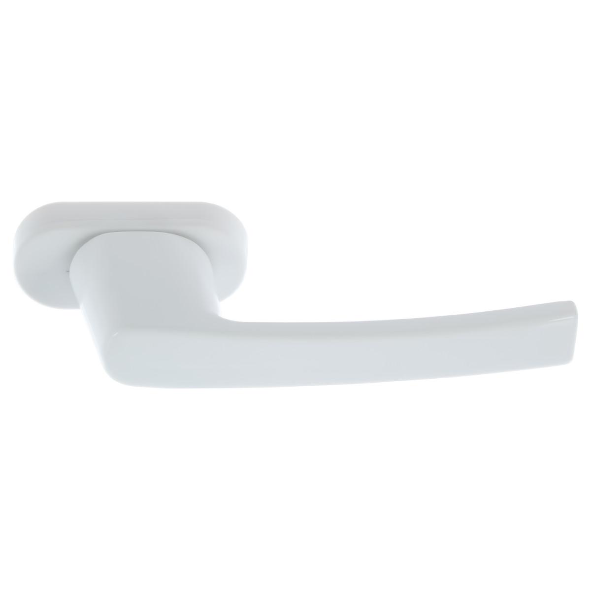 Ручка балконная двухсторонняя с ключом 2WH ET цвет белый