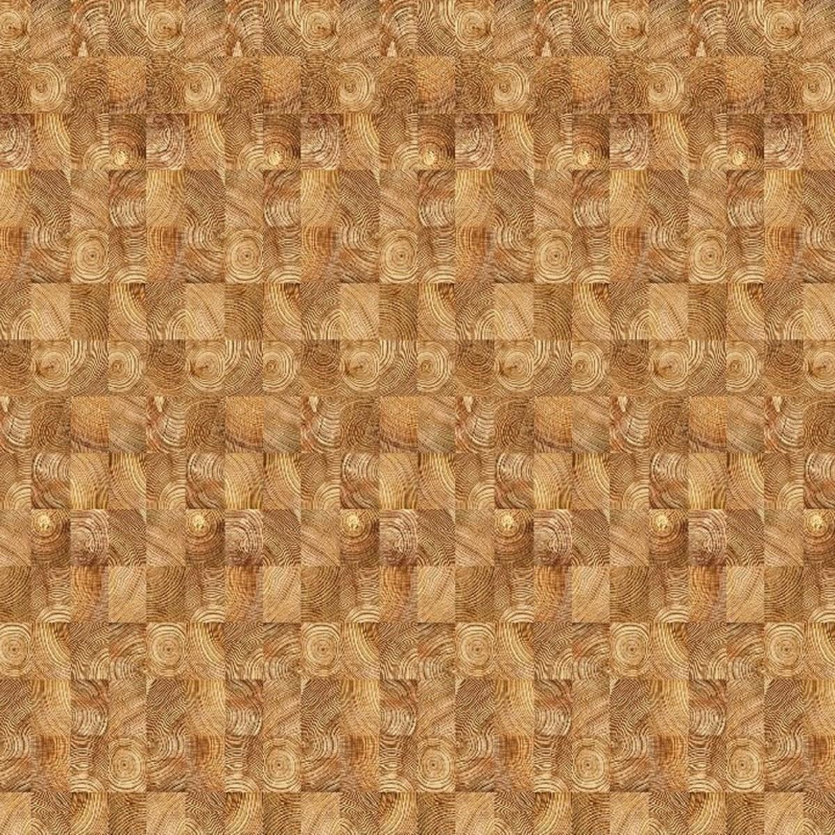Комплект панелей ПВХ «Древесный срез» 5x250x2700 мм