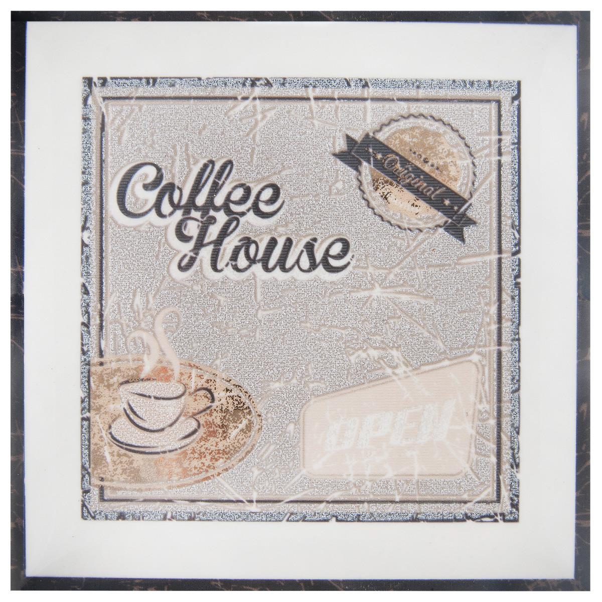 Декор «Cocktail Coffee B» 15x15 см цвет коричневый