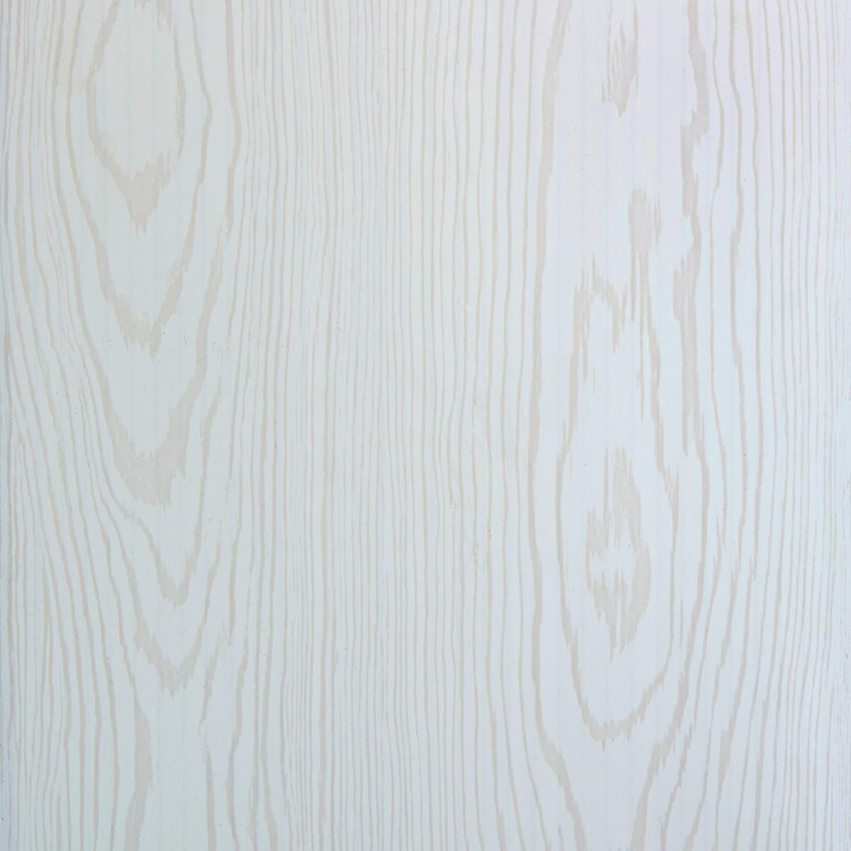 Панель ПВХ матовая Сосна 5x250x2700 мм белый