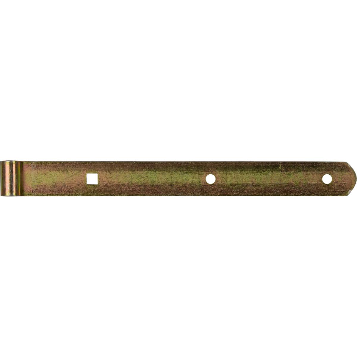 Петля воротная накидная d 10 300x30х3 мм