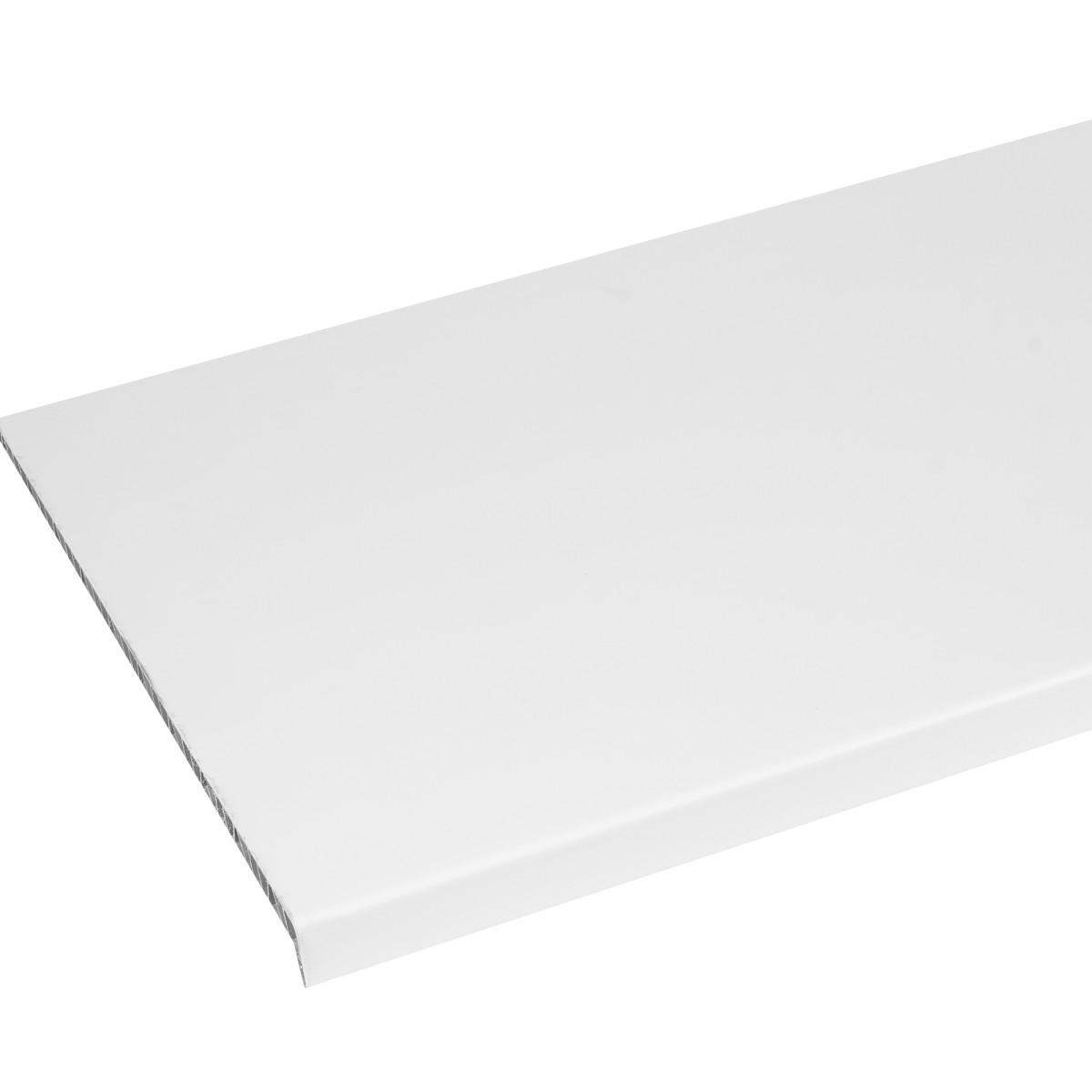 Подоконник ПВХ 400x1500 мм цвет белый
