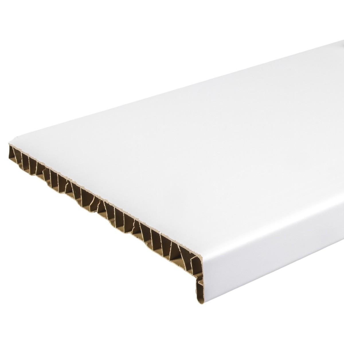 Подоконник ПВХ 300x2000 мм цвет белый