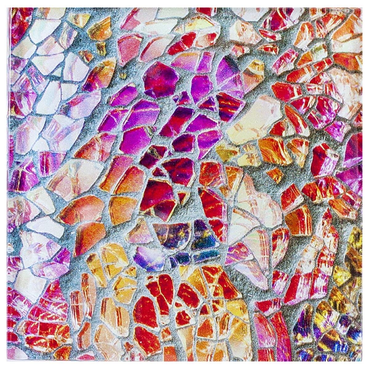 Abstraction mosaic 10x10 см