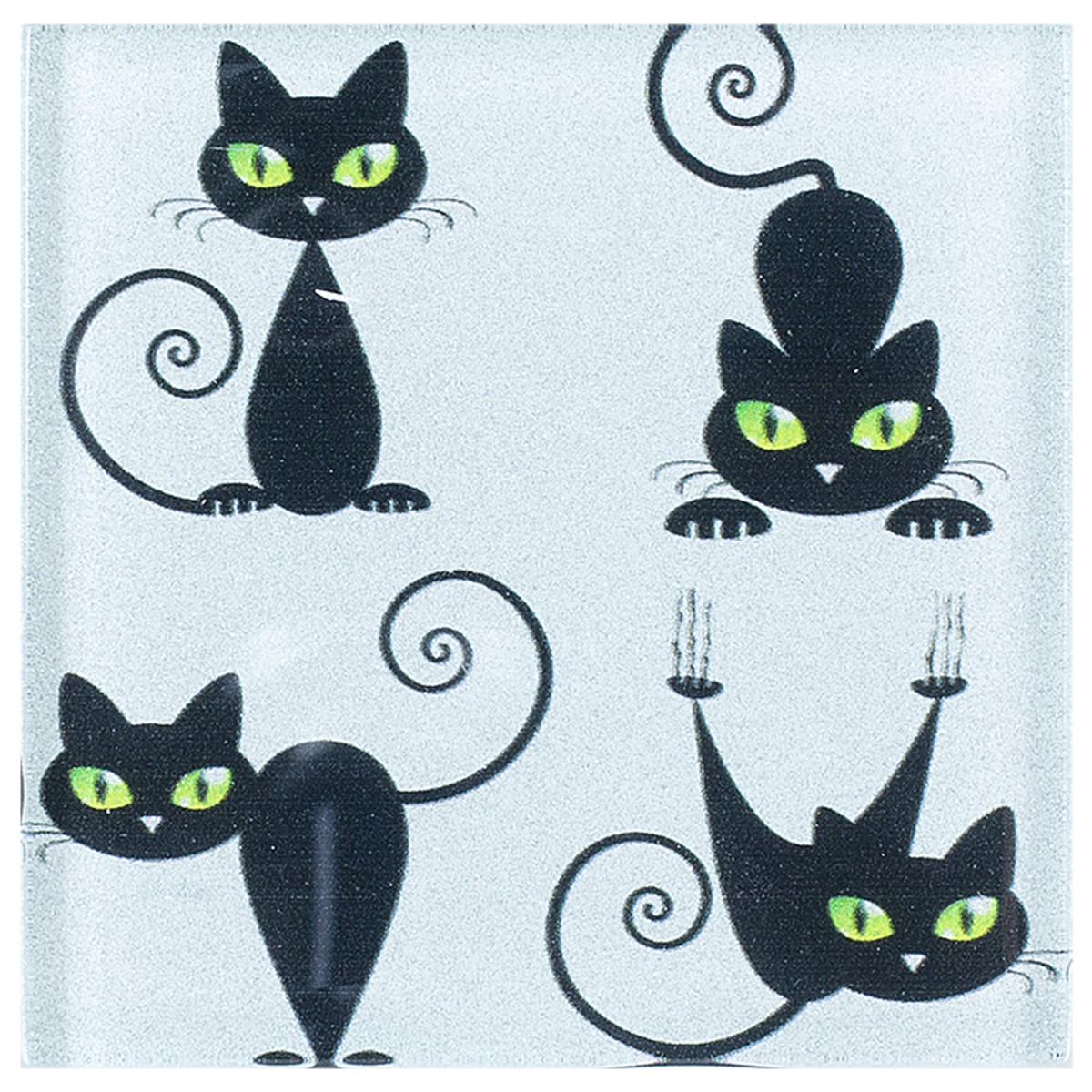 Black cat 1 10x10 см