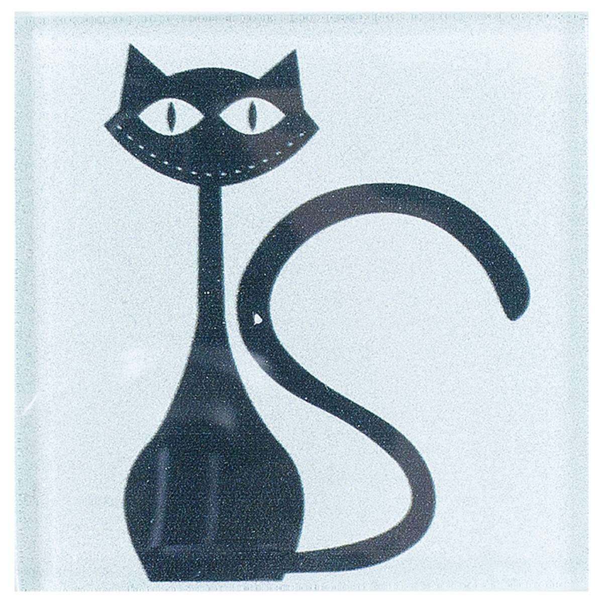 Black cat 2 10x10 см