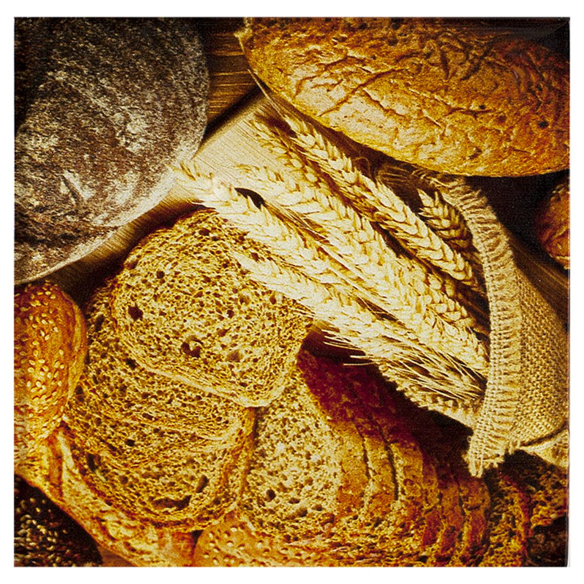 Декор Bread 3 «Артвалентто» 15x15 см цвет коричневый