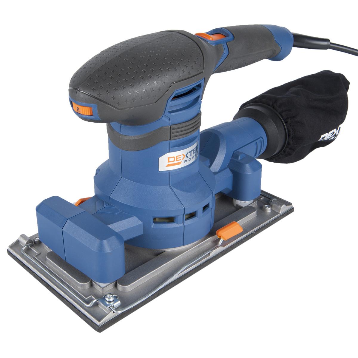 Вибрационная шлифмашина Dexter Power NC300ES 300 Вт