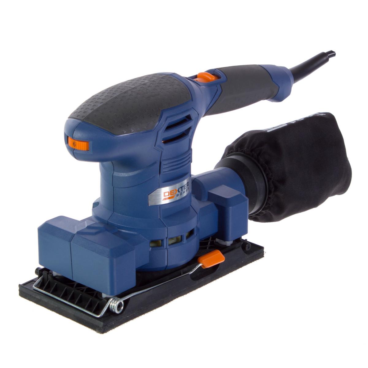 Вибрационная шлифмашина Dexter Power NC200ES 200 Вт