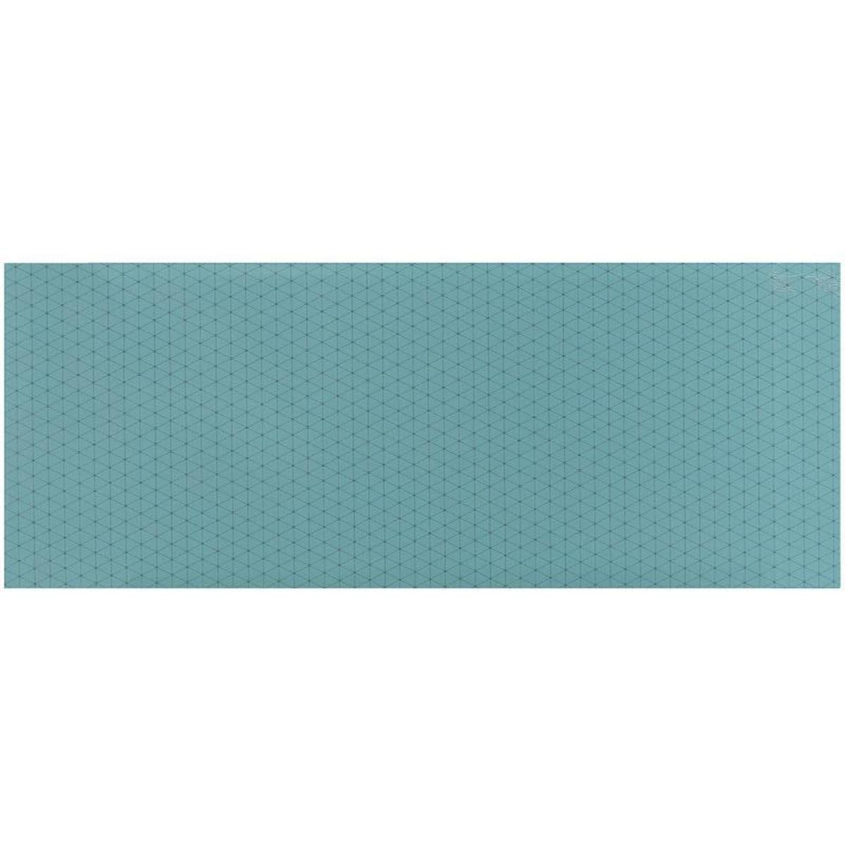 Плитка настенная Концепт 50х20 см 1.3 м2 цвет бирюзовый