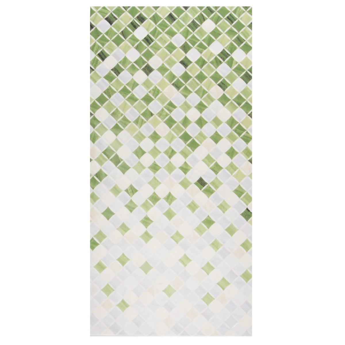 Плитка настенная Симфония 25x50 см 1.25 м2 цвет светло-зеленый