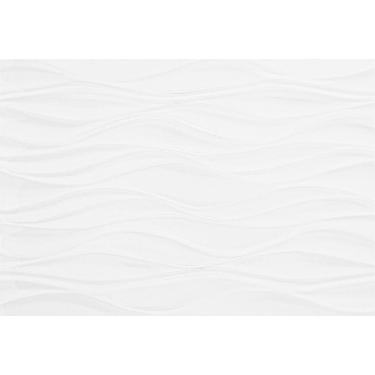 Плитка настенная Орхидея верх 28х40 см 1.232 м2 цвет белый