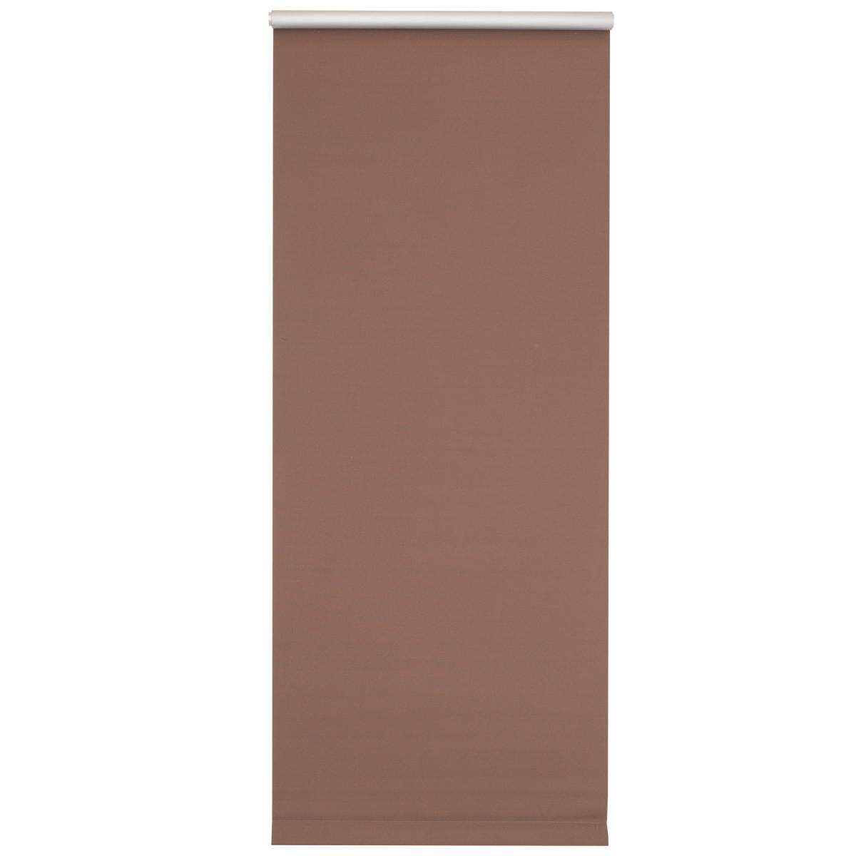 Мини-Штора рулонная Blackout 40х150 см цвет шоколадный