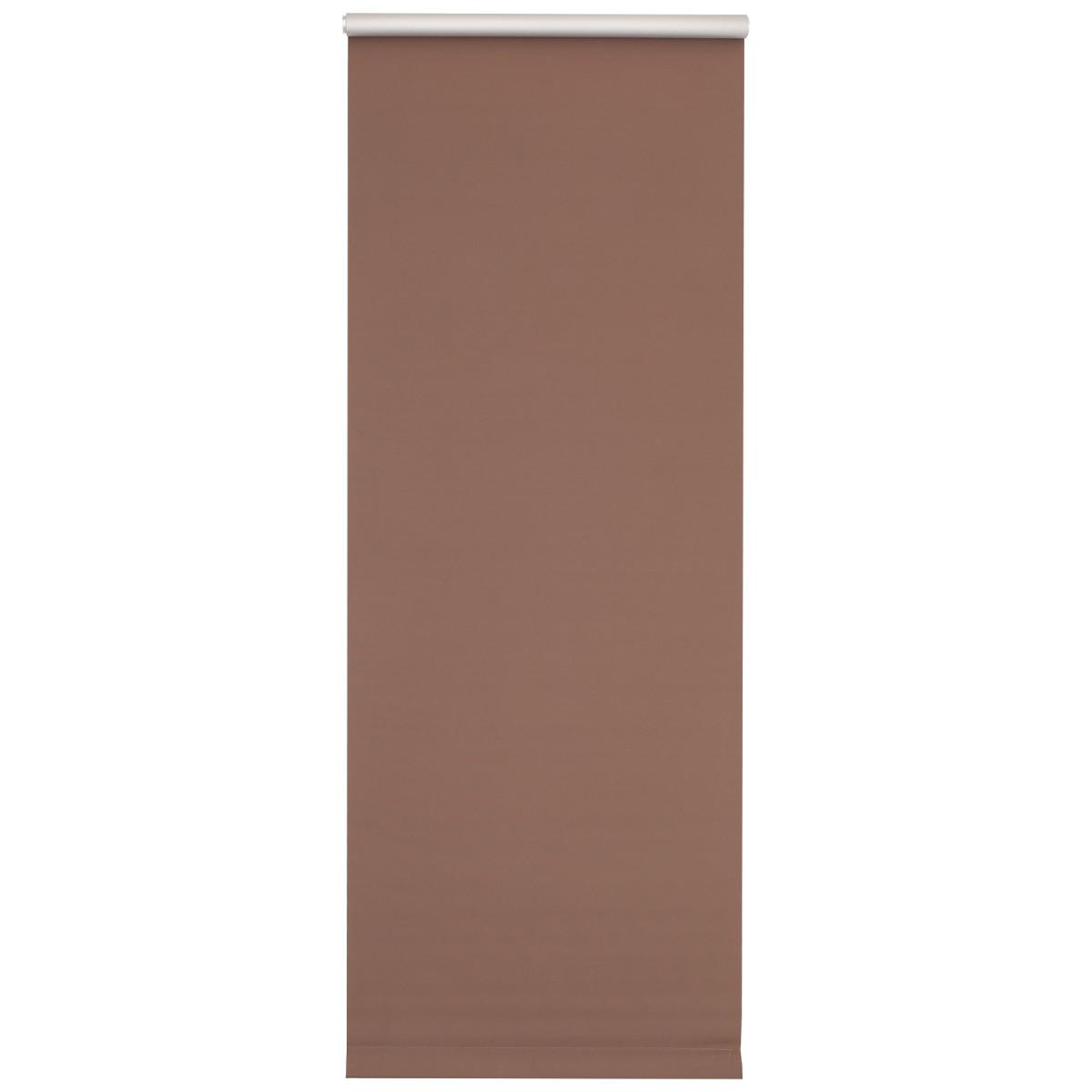 Мини-Штора рулонная Blackout 50х150 см цвет шоколадный