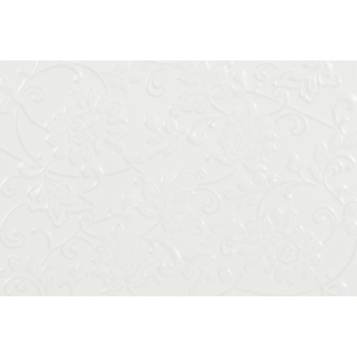 Плитка настенная Аджанта цветы 20х30 см 1.2 м2 цвет белый