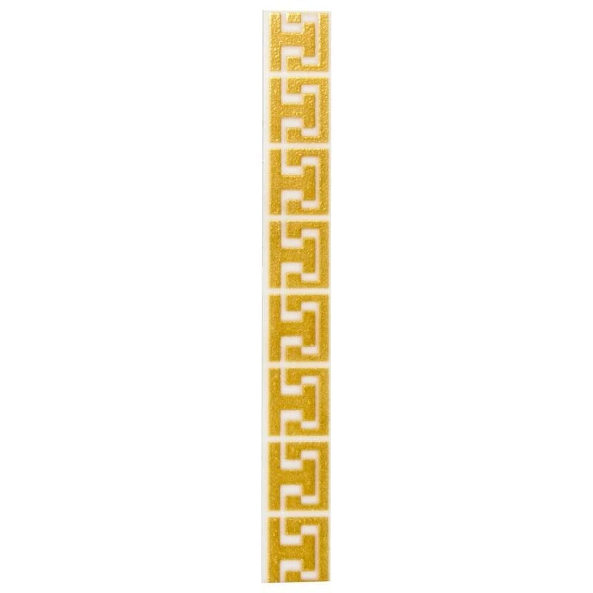 Бордюр Сомерсет золото матовое 25х23 см