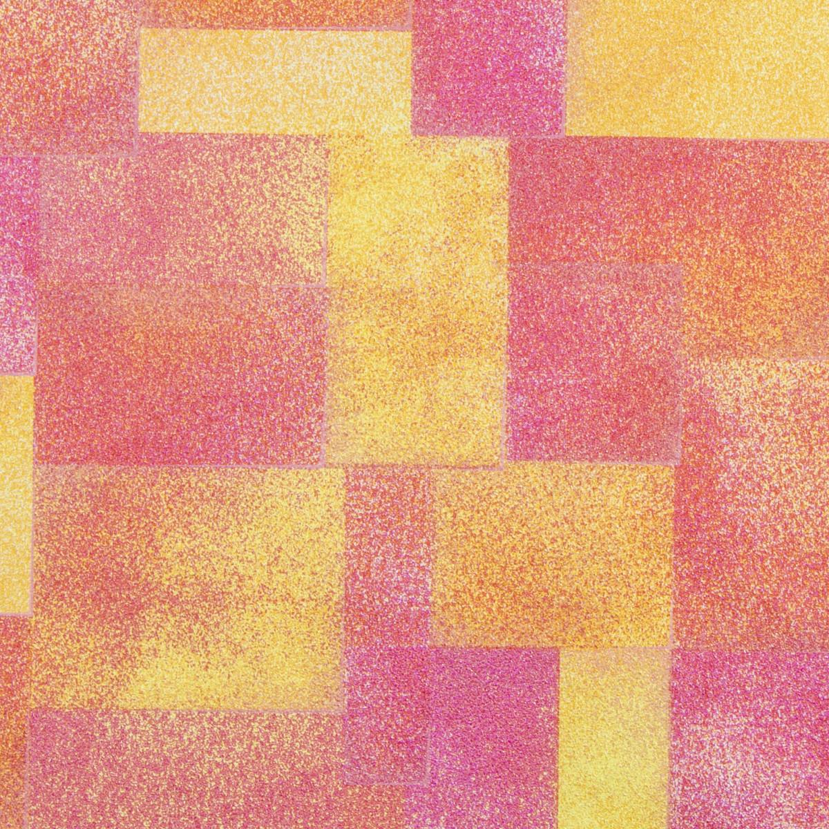 Обои флизелиновые 1.06х10 м геометрия цвет оранжевый ER 4019-4