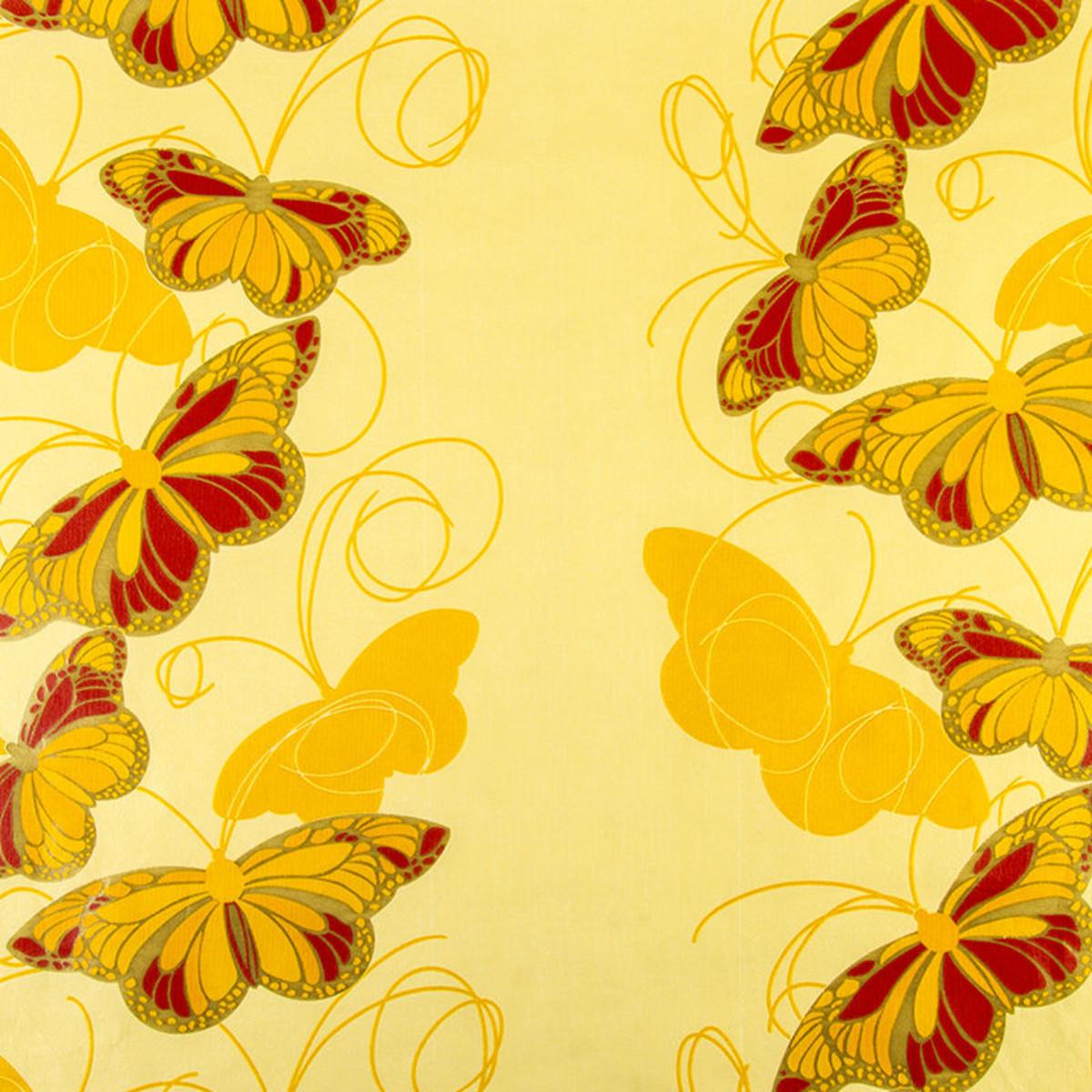 Обои на флизелиновой основе 1.06х10 м цвет желтый АС Пал 30020-35