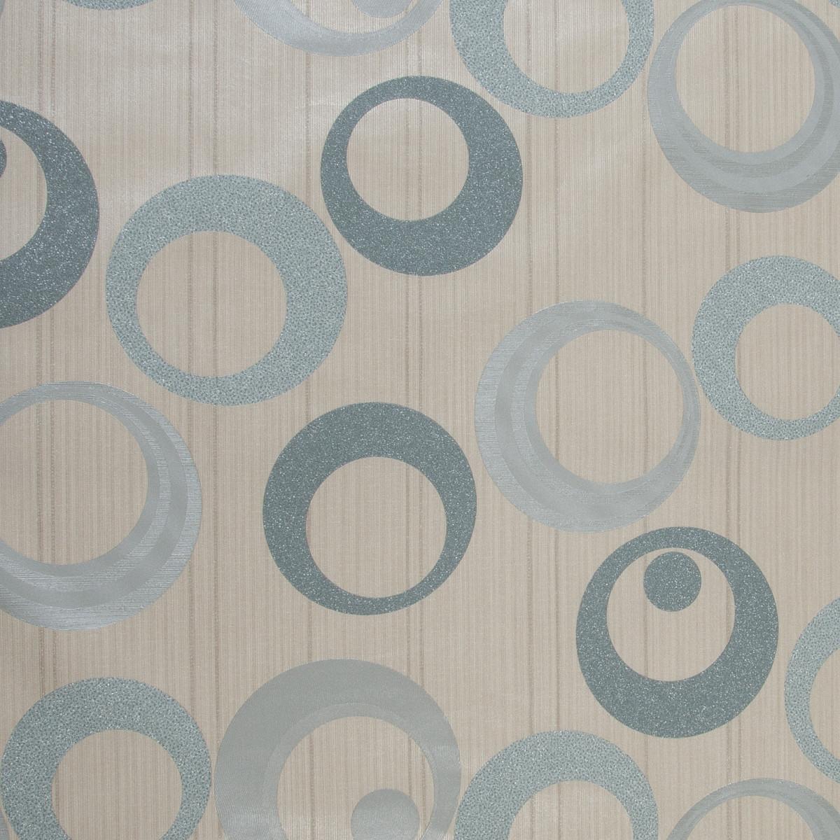Обои флизелиновые 1.06х10 м круги цвет синий ED 1045-04