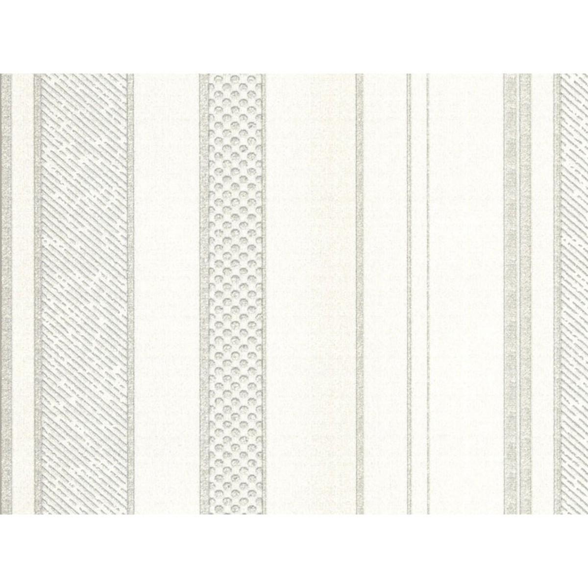 Обои на бумажной основе 0.70х10 м полосы цвет бежевый Za 3510