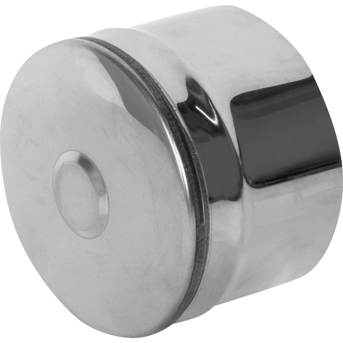Заглушка глухая 115х0.5 мм нержавеющая сталь