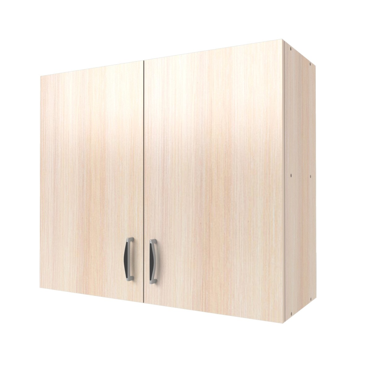 Шкаф навесной Дуб молочный См 68х80 см ЛДСП цвет дуб