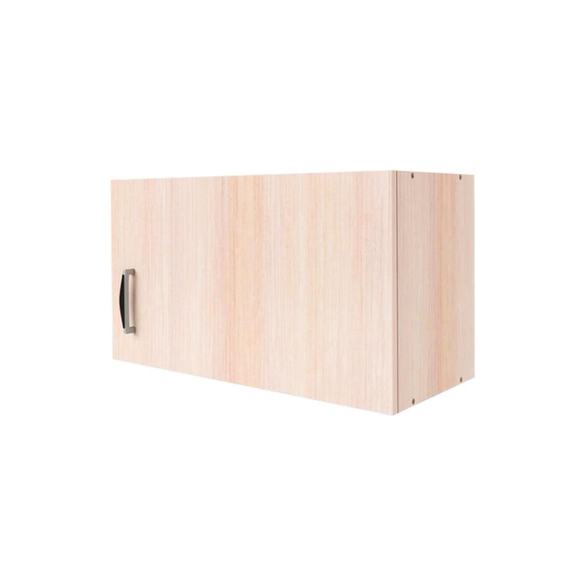 Шкаф навесной над вытяжкой Дуб молочный См 35х60 см ЛДСП цвет дуб
