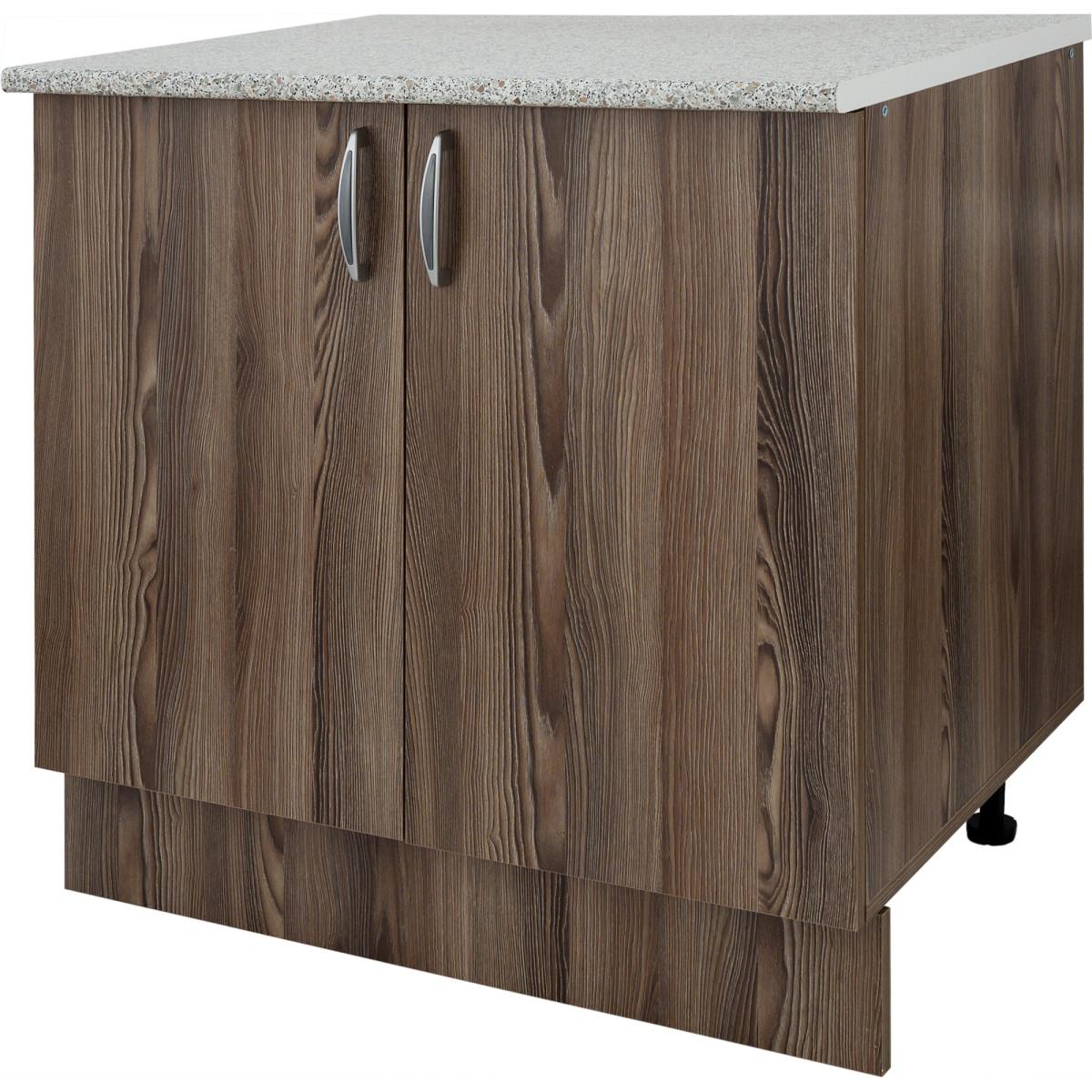 Шкаф напольный Дуб шато Сп 85х80 см цвет дуб