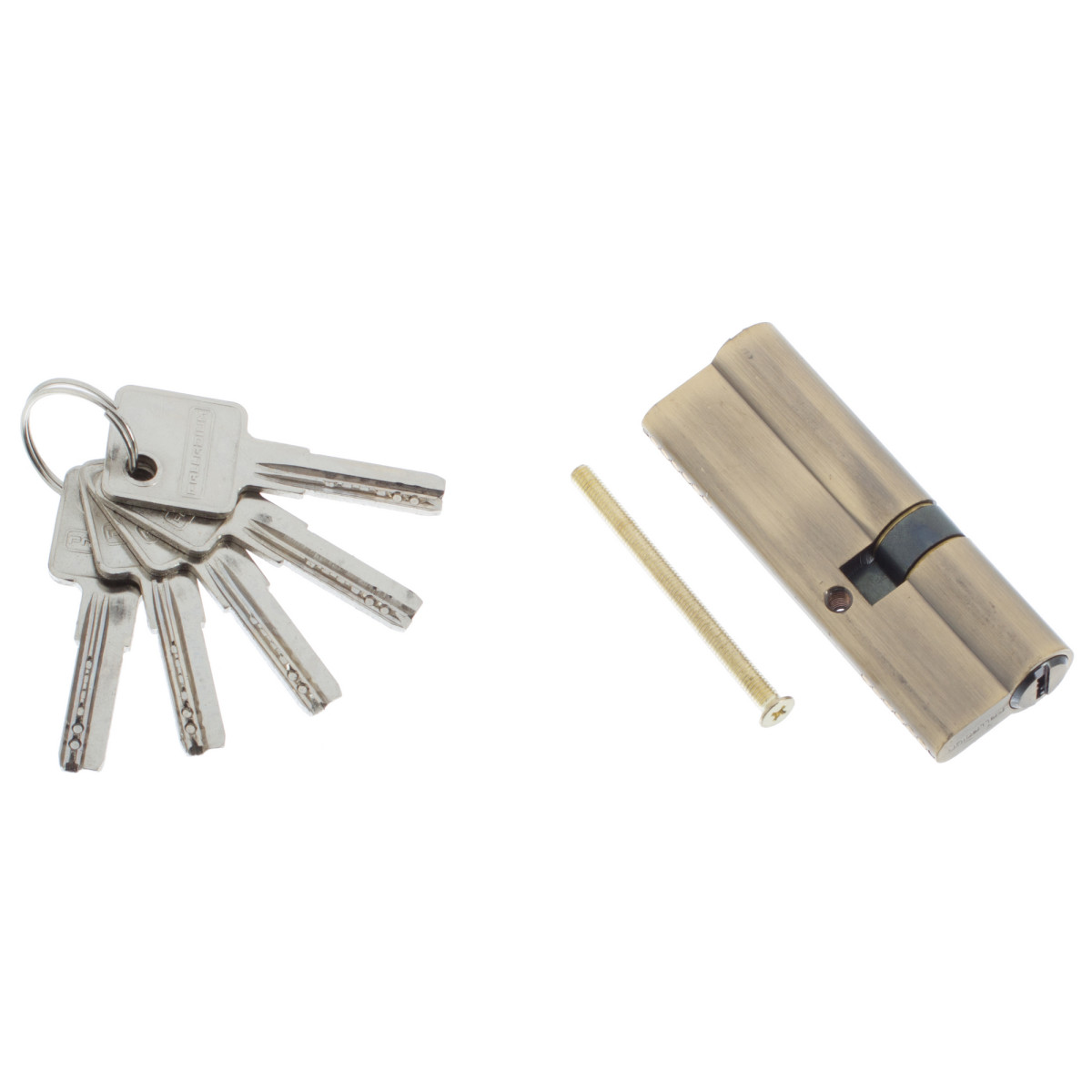 Цилиндр Ключ/Ключ 35Х55 Бронза 90 C Et Ab