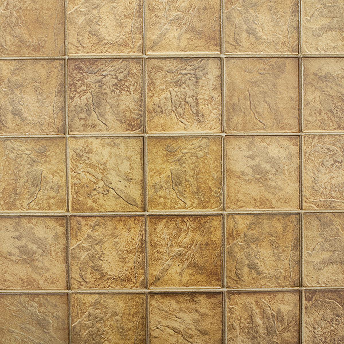 Панель ПВХ Плитка 964х484х3 мм цвет коричневый 0.47 м2