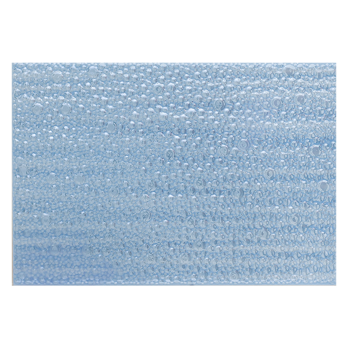 Панно Вэйв 2 цвет голубой 400х275 мм