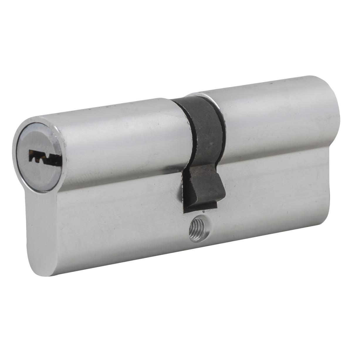 Цилиндр Standers ключ/ключ 40х40 хром TT-CAB811