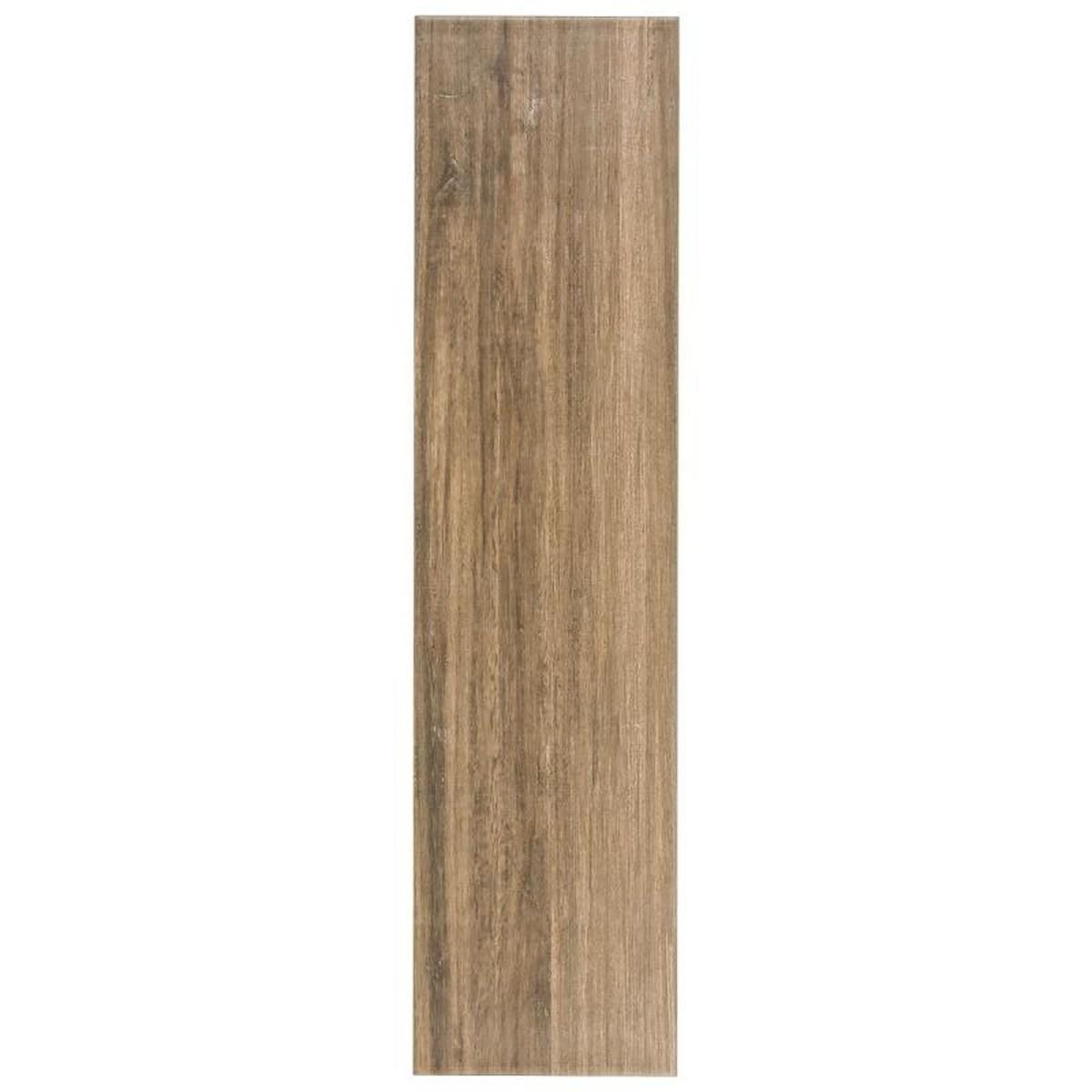 Керамогранит Artens Пино цвет коричневый 15х60 см