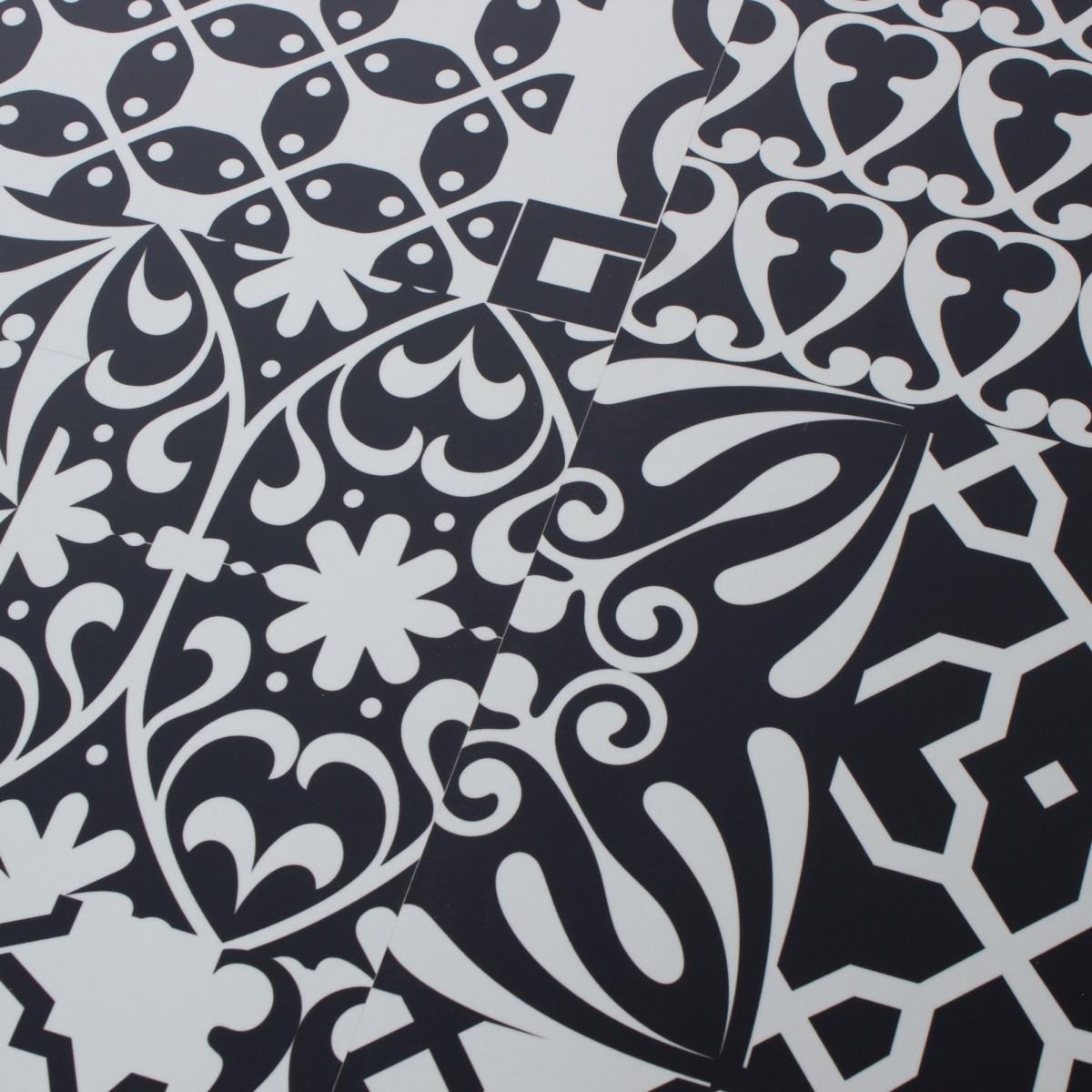 Ламинат Чёрное и белое 33 класс толщина 8 мм 1.996 м²