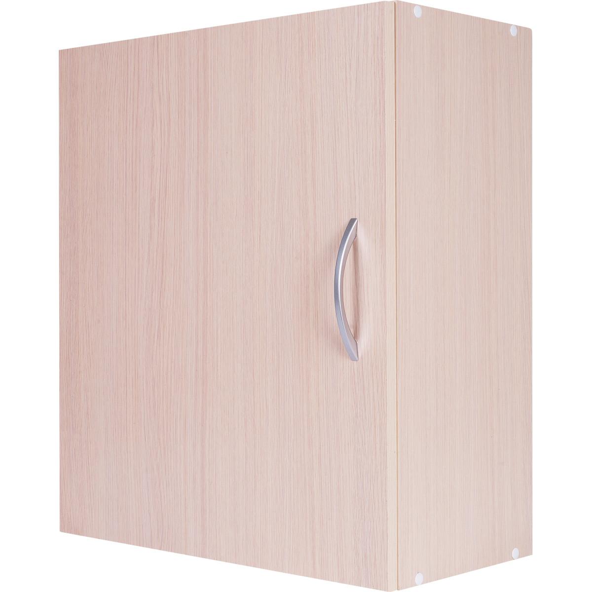 Шкаф навесной Дуб Молочный Д 67.6х60 см цвет дуб