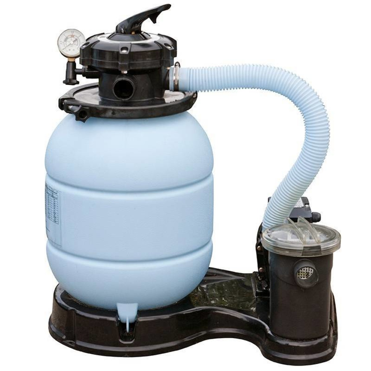 Фильтр-насос песочный 6000 л/час с предфильтром