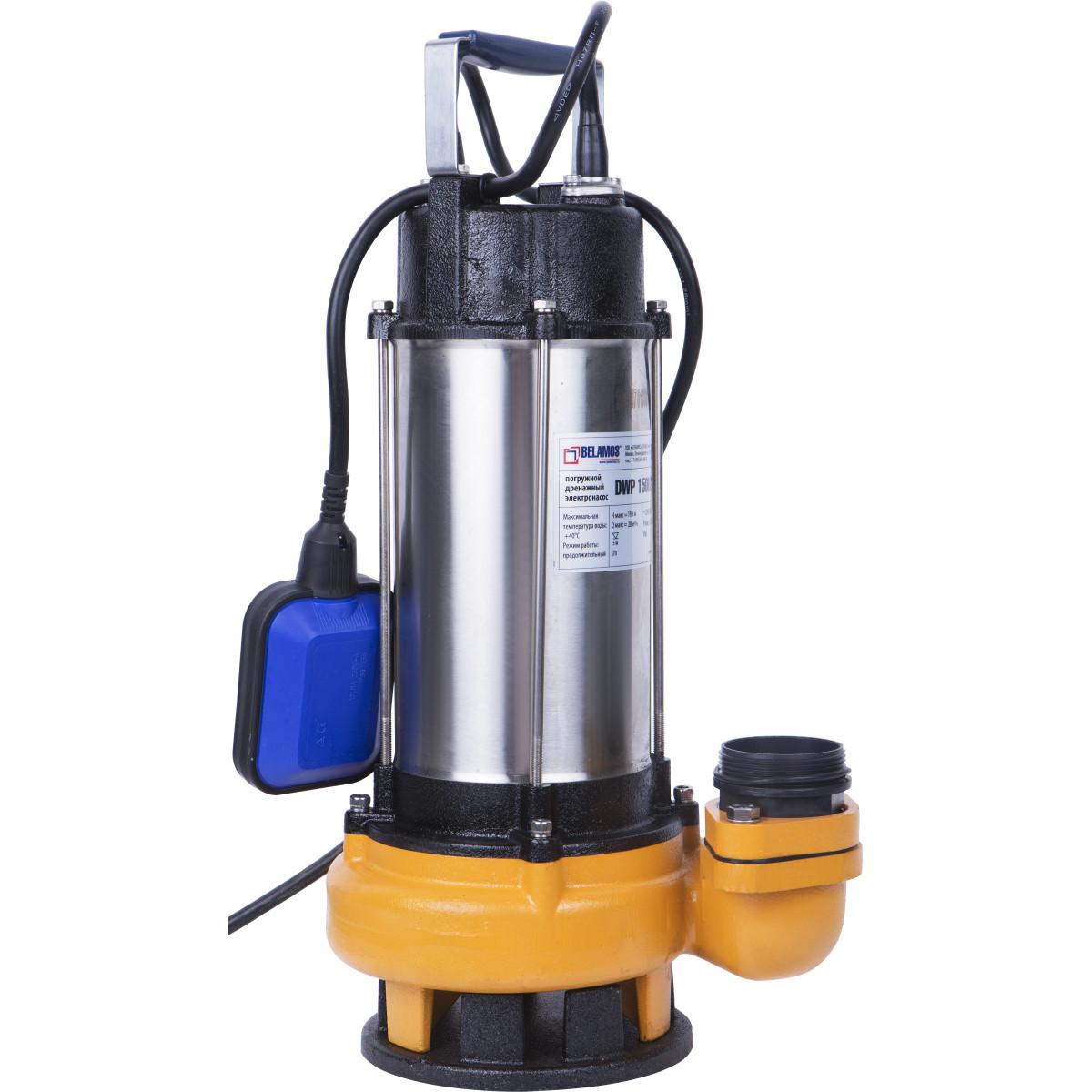 Насос погружной дренажный Belamos DWP1500/22 для грязной воды 16200 л/час