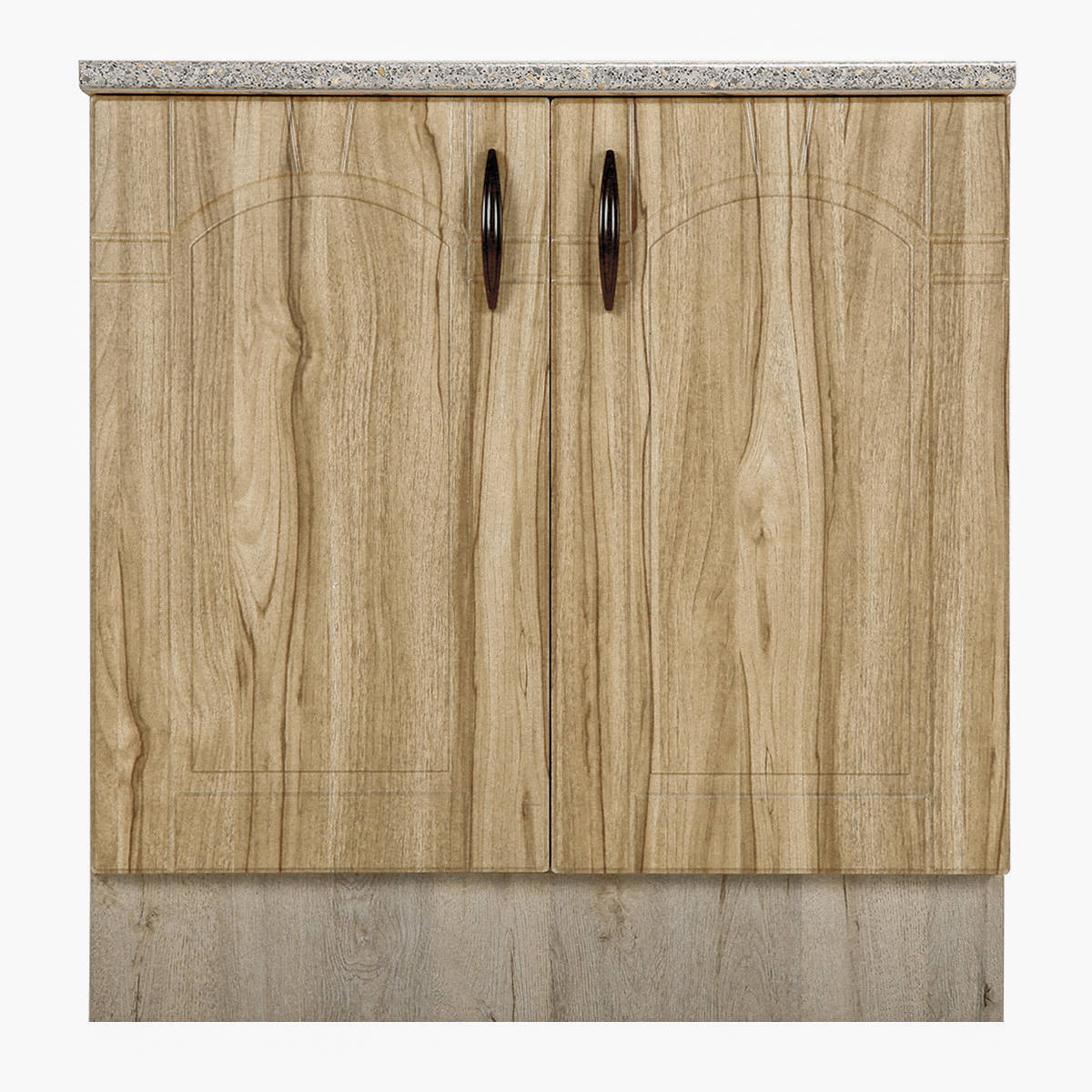 Шкаф напольный Камила 85х80 см МДФ цвет светлый каштан