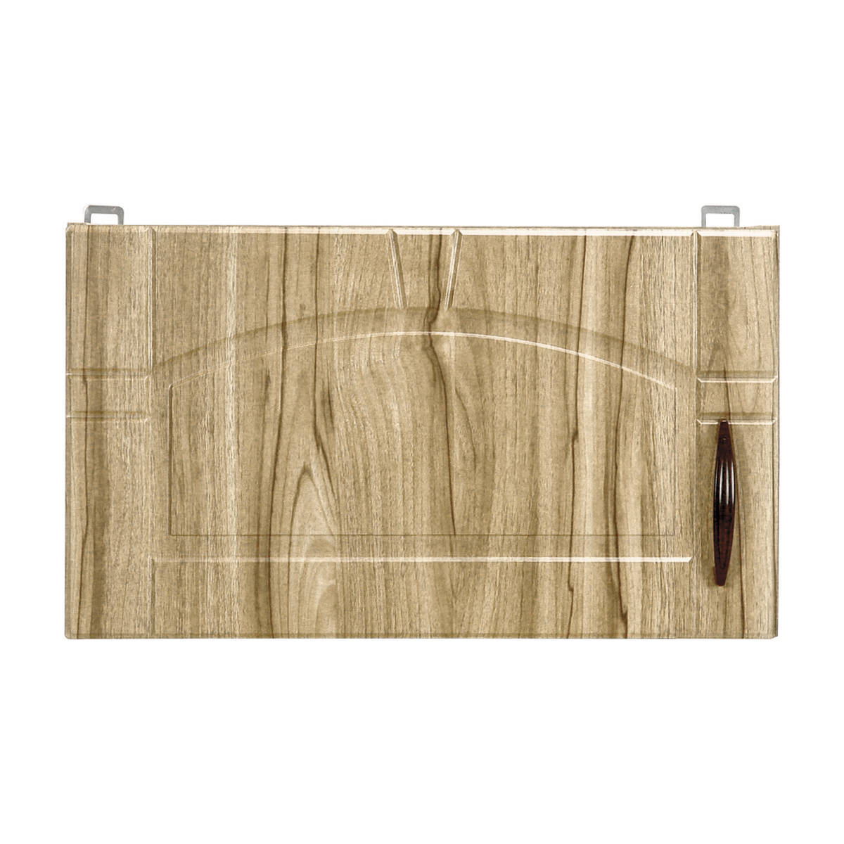 Шкаф навесной над вытяжкой Камила 35х60 см МДФ цвет светлый каштан